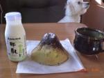 夏の思い出3(富士山) 山麓の朝
