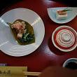 塩山荘の懐石料理