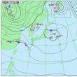 11月17日 アメダスと天気図。
