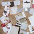 紙で遊ぶ:雑誌の切り抜きでメモ紙づくり