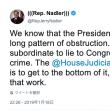 トランプ大統領、元側近に虚偽説明指示か?!