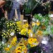 お盆の花買い、あちこち