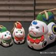 干支飾り、神仏を守る神獣、赤狛と青狛