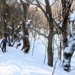 残雪豊かな比婆山を歩く(その1)