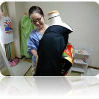 今日は「附下げ・留袖コース」の認定試験/鹿児島