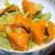 海老グラタンと妹の副菜