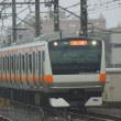 2017年10月22日 中央本線 高尾 E231系 T3編成 台風 大雨