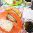 納豆とアジ