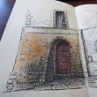 万年筆で絵を描くと雰囲気がいいな〜 ^_^