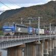 万富鉄橋ではEF200貨物を(11月21日撮影)