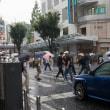 雨の横須賀中央