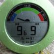 平成29年10月17日・今朝の東祖谷9.6℃