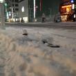 雪景色の銀座