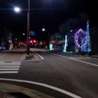 12月12日 新町イルミネーションは消灯のお時間