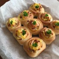 ウインナーとチーズのちぎりパン