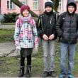 エストニアの中学生の笑顔