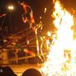 冬祭り-本番⑦ 六郷の竹うち(カマクラ)