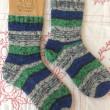 手編み靴下 作品NO.178