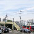 静岡鉄道は「春日町駅」付近の風景 (2017年9月 静岡朝日テレビ)