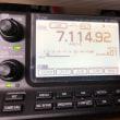 IC-7100 に 100均の液晶保護フィルム
