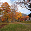 定山渓~支笏湖の紅葉