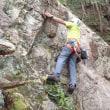 金毘羅外岩遊びと新しいロープ
