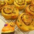 かぼちゃのシナモンロール♪