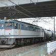 高崎線にて235系配給、貨物を撮影