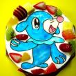 贈ってうれしい♪もらってうれしい♪☆おえかきデコレーションケーキ♪