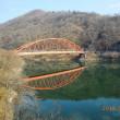 小春日和の陽気に誘われ、知明湖湖畔を時計回りに歩いた(万歩計18.297歩)