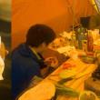 南信の中川村にある陣馬形山でオートキャンプ。豪雨の中でジビエ料理に舌鼓(妻女山里山通信)