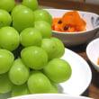 夕飯◆肉じゃが、人参マリネ、ほうれん草の胡麻和え