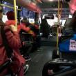 寒い釜山の熱いバス