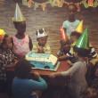 次男、3歳のお誕生日会。