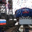 ロシアの巨大で、強力な原子力砕氷船「シビーリ(Сибирь/Sibir)」を進水!