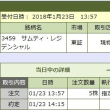 ☆1月23日[Jリート]サムティ・レジデンシャル5口を追加したよ