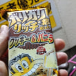 l tried to eat popsicle named Garigari-kun that have taste of cooky  & vanilla.