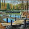元陽会千葉支部展に出品されたアトリエ油彩の会の人達の作品集ー2-