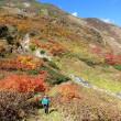 蓮華温泉から鉱山道へ 紅葉散歩