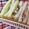 二人弁当129 ローストビーフのサンドイッチ
