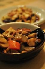 鶏と根菜の照り煮