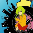 小説「レロレロ姫の帰還」(2)神社の森(2)