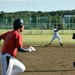 早朝野球⚾ 松村
