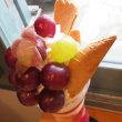 ガラスびん応援部㏌宮崎④ふたたびの田中フルーツでフルーツパフェ
