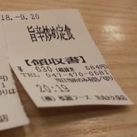 今日の夕飯 松屋 京成大久保