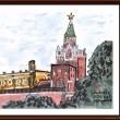 ロシアの風景(6)モスクワ・クレムリン-1