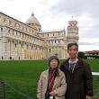「イタリア道中記」 №94 ピサと記念写真