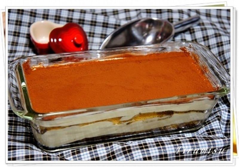 大人のバレンタインにはティラミス風味のスコップケーキを