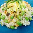 枝豆と帆立の混ぜご飯