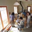 3月28日 つる編み教室、久々の投稿です。